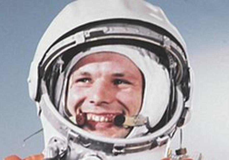 First man in space, Yuri Gagarin