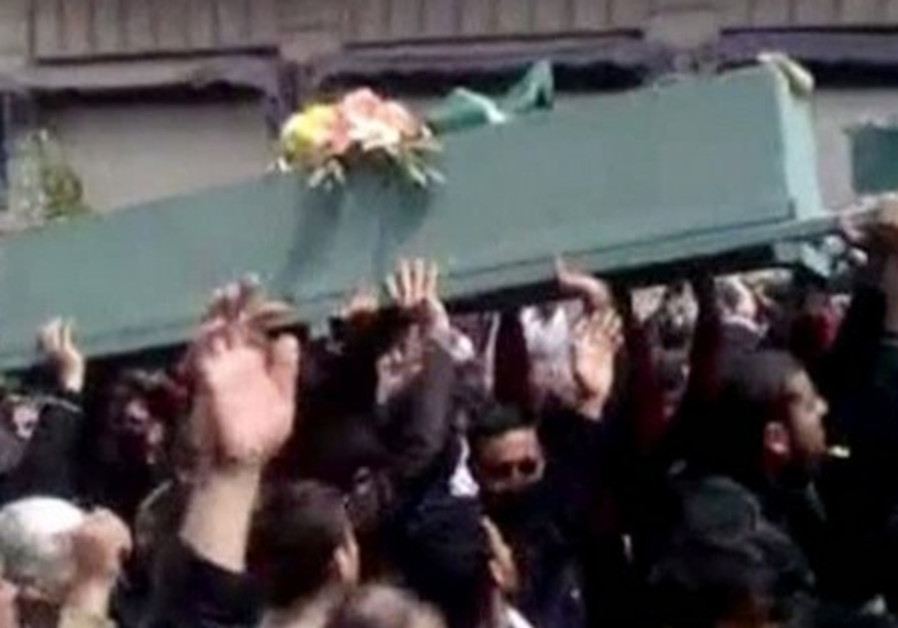 Funeral for pro-democracy activists in Deraa