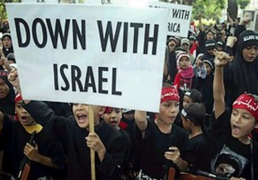 How can Israel win the world's favor?
