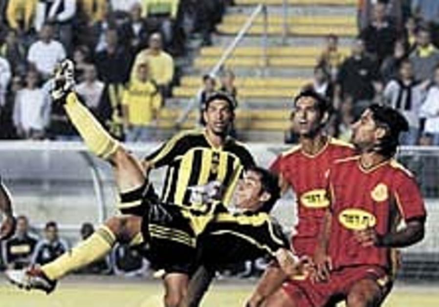 Local soccer: Romulo shines as Betar destroys Ashdod