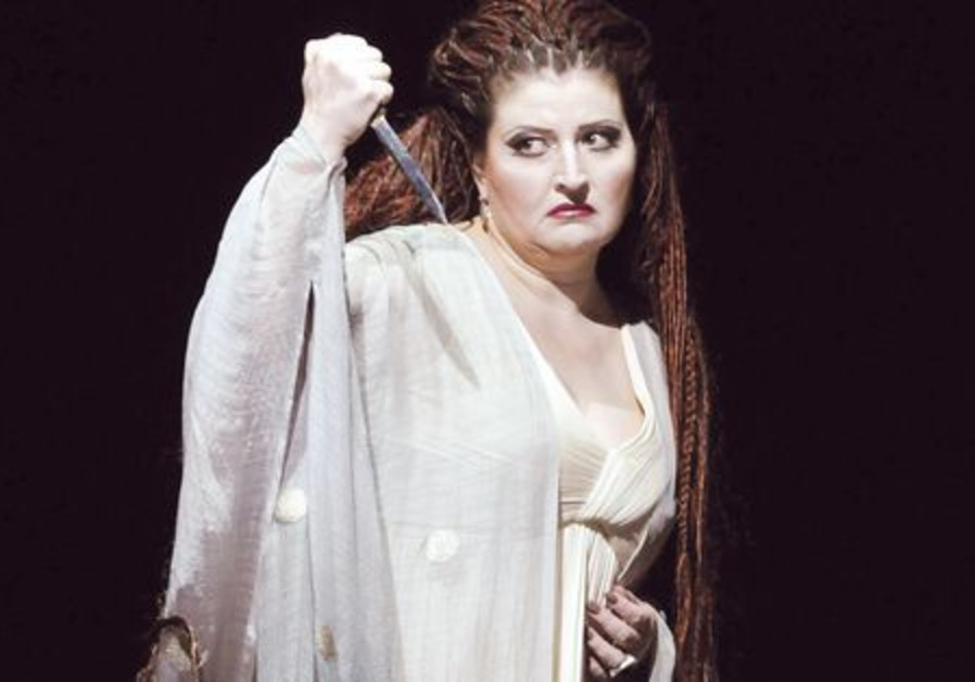 Dimitra Theodossiou in 'Norma'