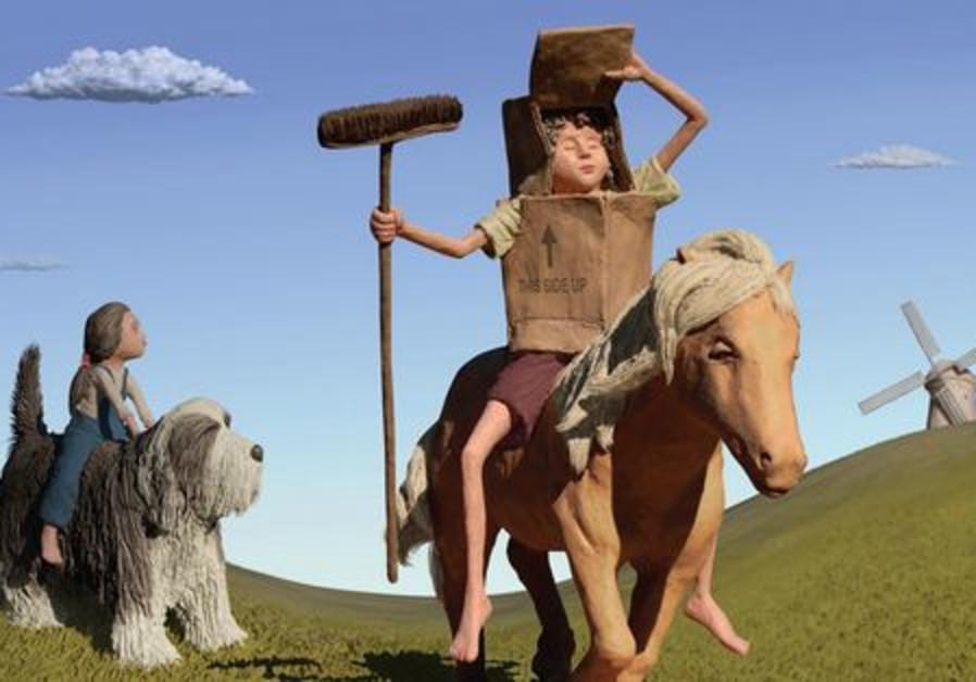 Don Quixote by Ohad Landesberg