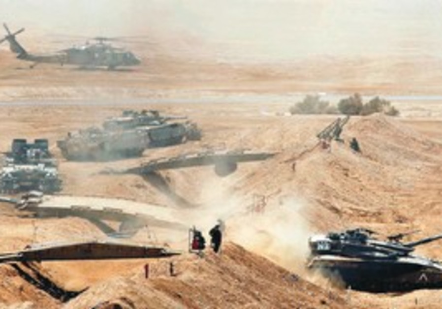 An IDF exercise in the South