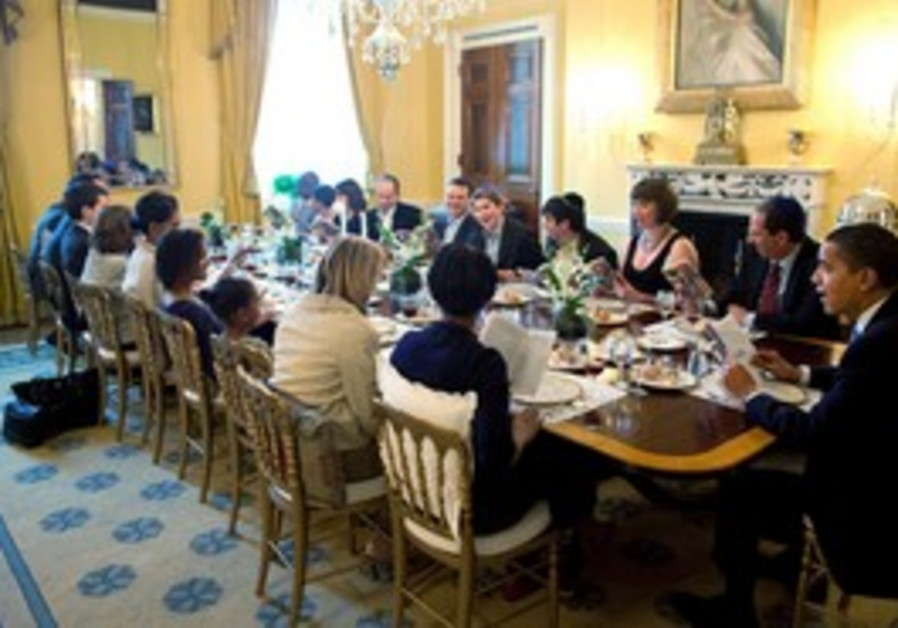 US president Obama's White House Seder