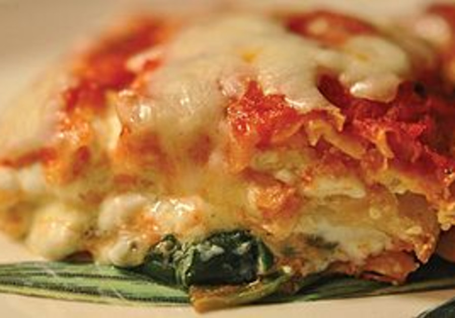 Lasagna, kosher for Passover