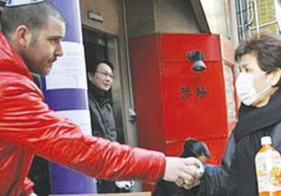 Chabad helps needy Japanese