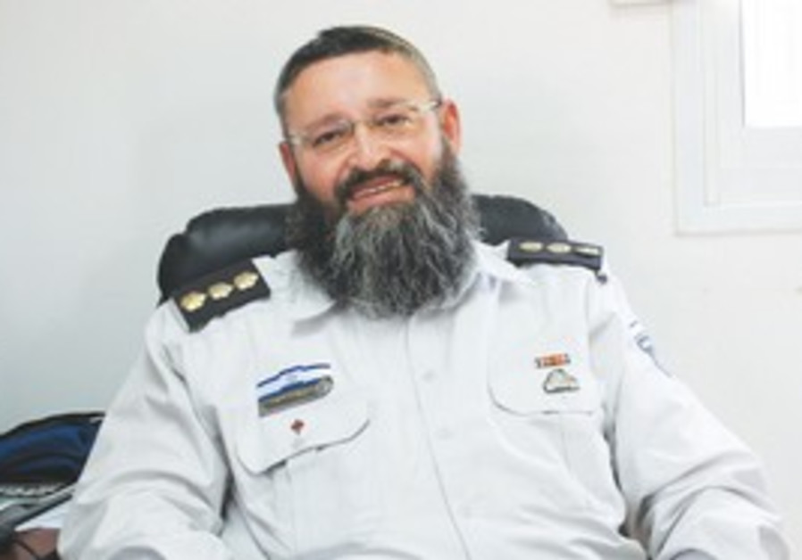 Prisons Service Chief Rabbi Yekutiel Yehuda Visner