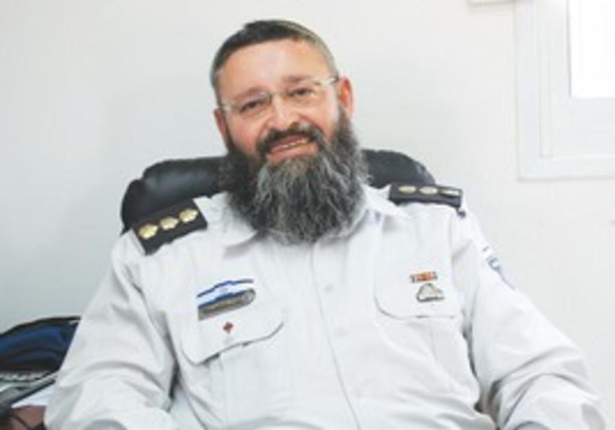Prisons Service Chief Rabbi Yekutiel Yehuda Visner