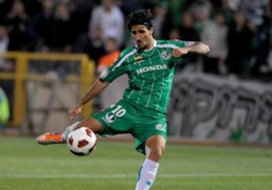 Maccabi Haifa midfielder Lior Rafaelov.