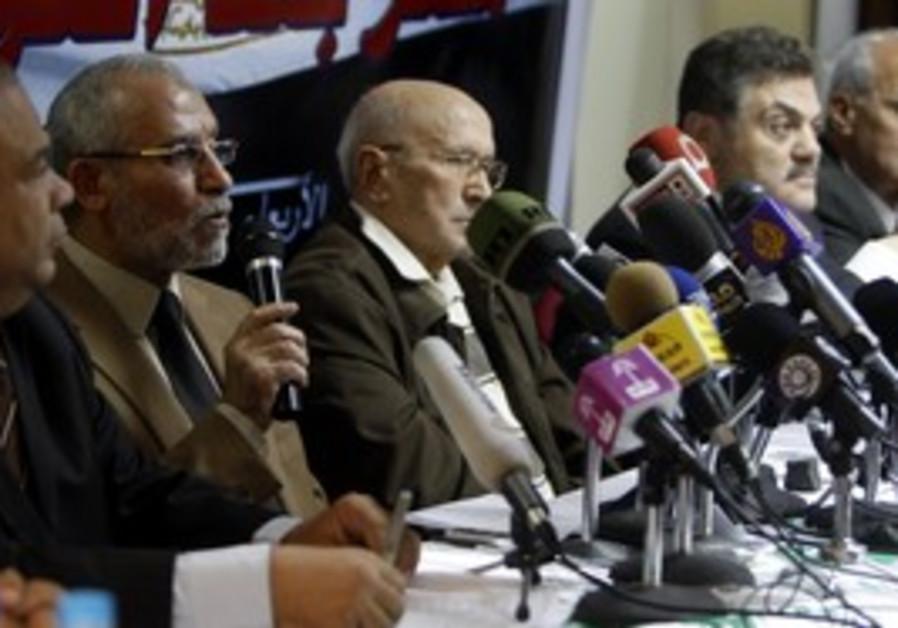 Egyptian Muslim Brotherhood leaders [file]