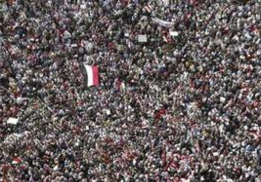 Protesters fill Egypt's Tahrir Square