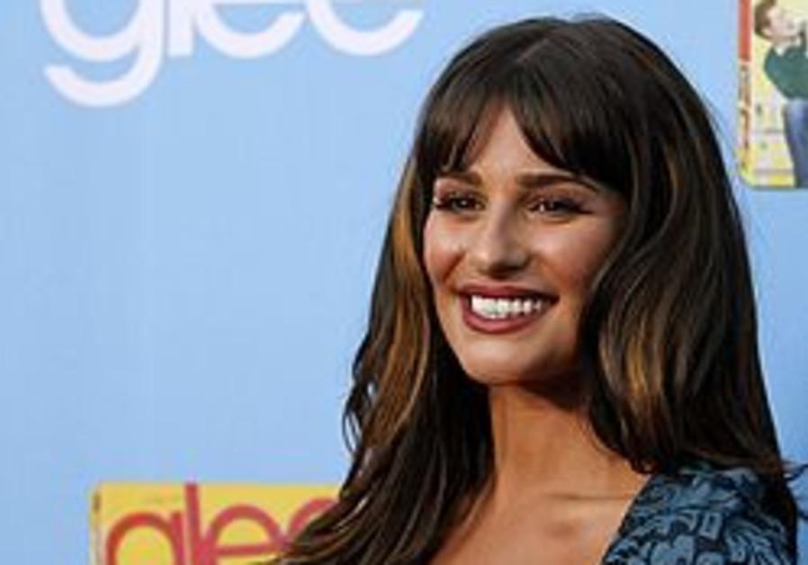 """Glee"" actress Lea Michele"