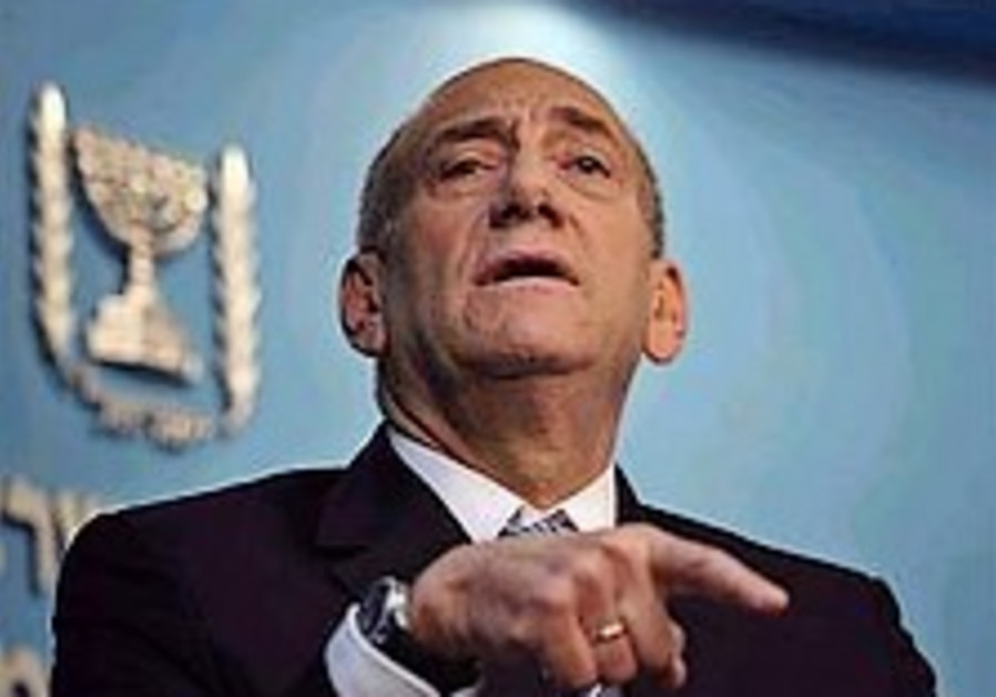 Olmert to remain PM until gov't formed
