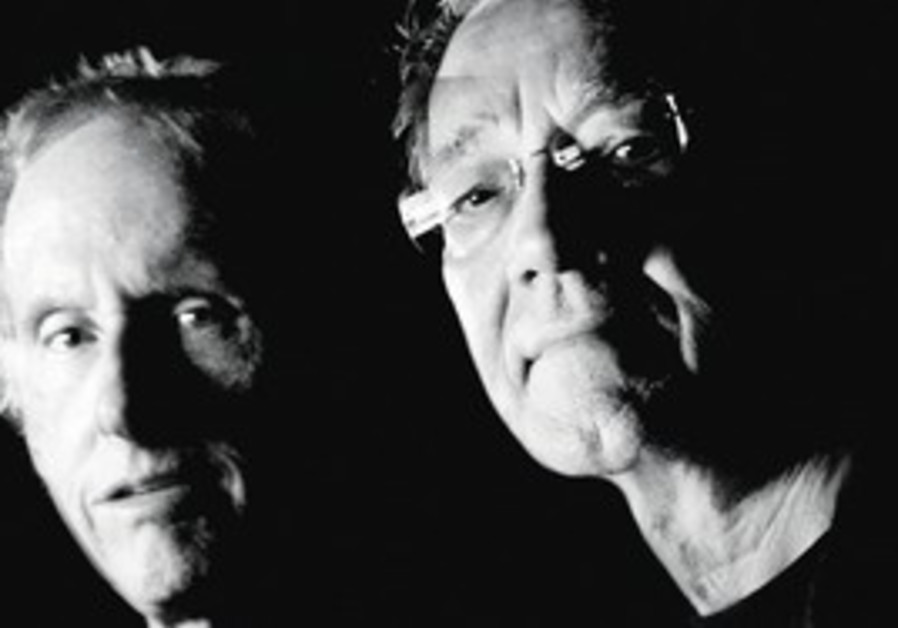 Doors members Ray Manzarek, Robby Krieger