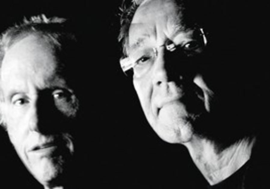 Doors members Ray Manzarek, Robby Krieger