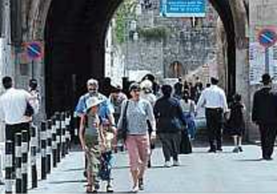 Poll: Israelis say J'lem an internal affair