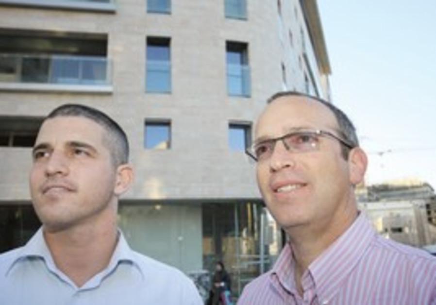 Yoni Shapira and Bennie Loval.