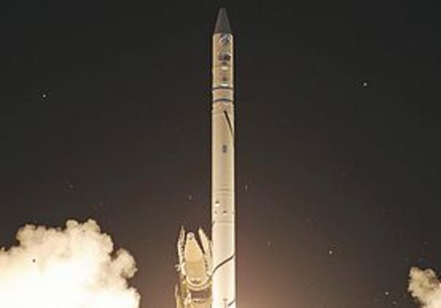 Satellite launch (illustrative)
