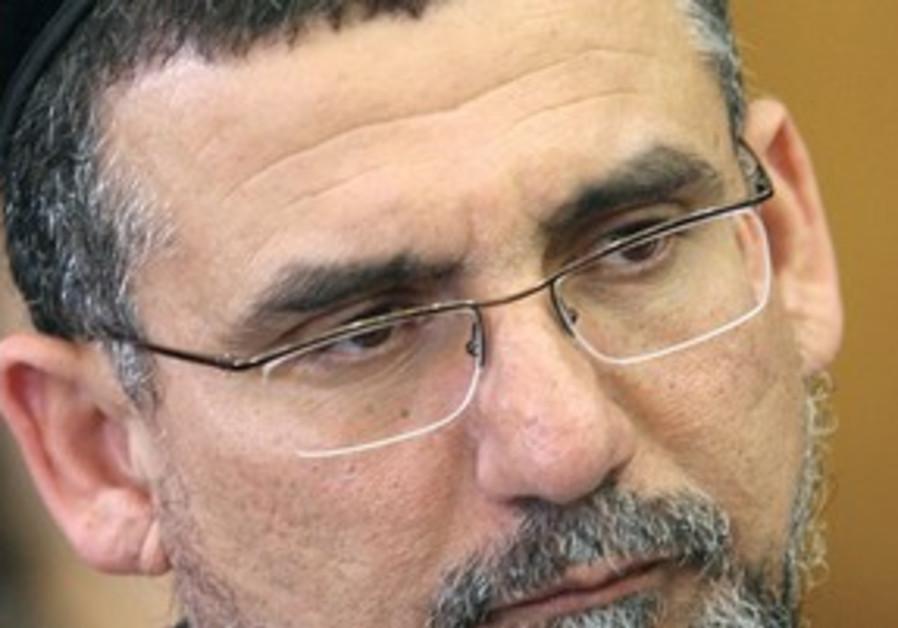 Shas MK Yitzhak Vaknin