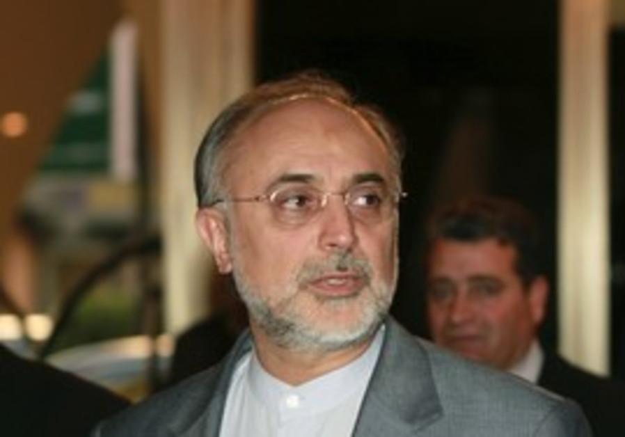 Iranian Foreign Minister Ali Akbar Salehi, Jan.