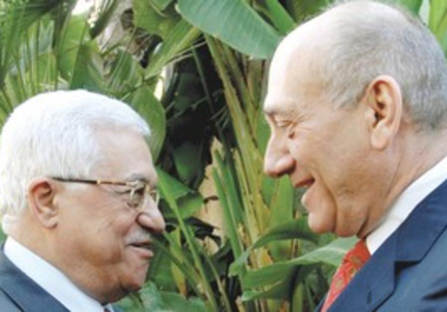 ABBAS AND Olmert.