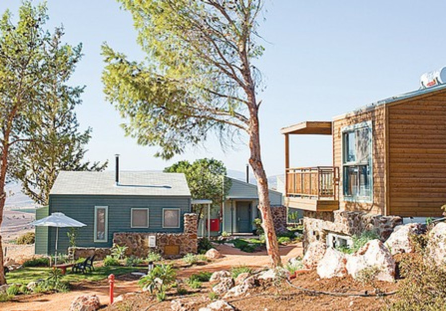 Lodging at Vered Hagalil.