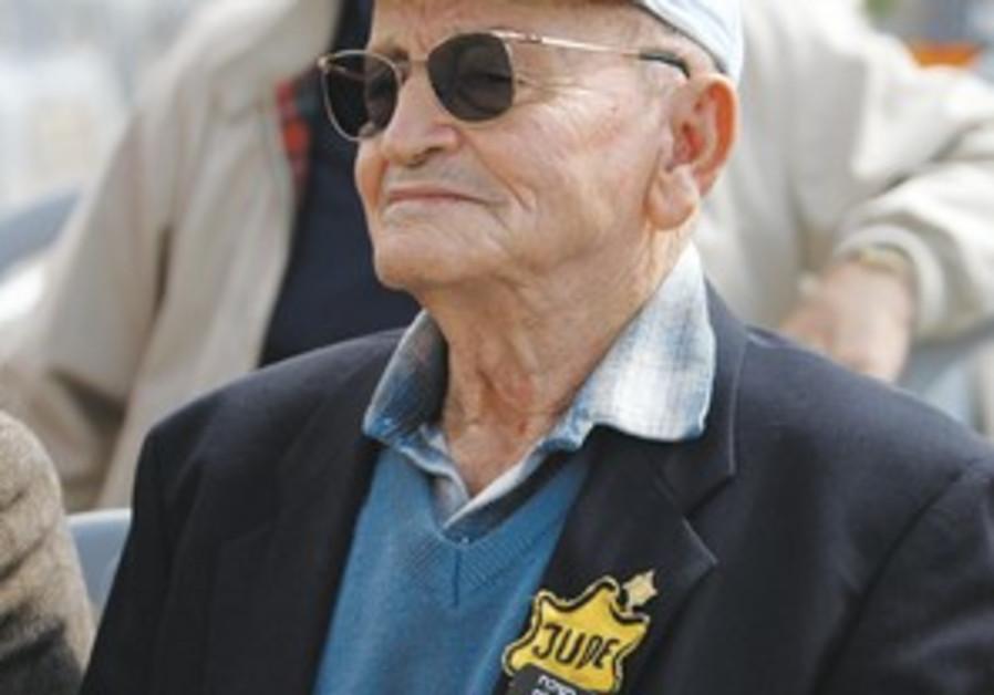 Holocaust survivor MORDECHAI FUCHS
