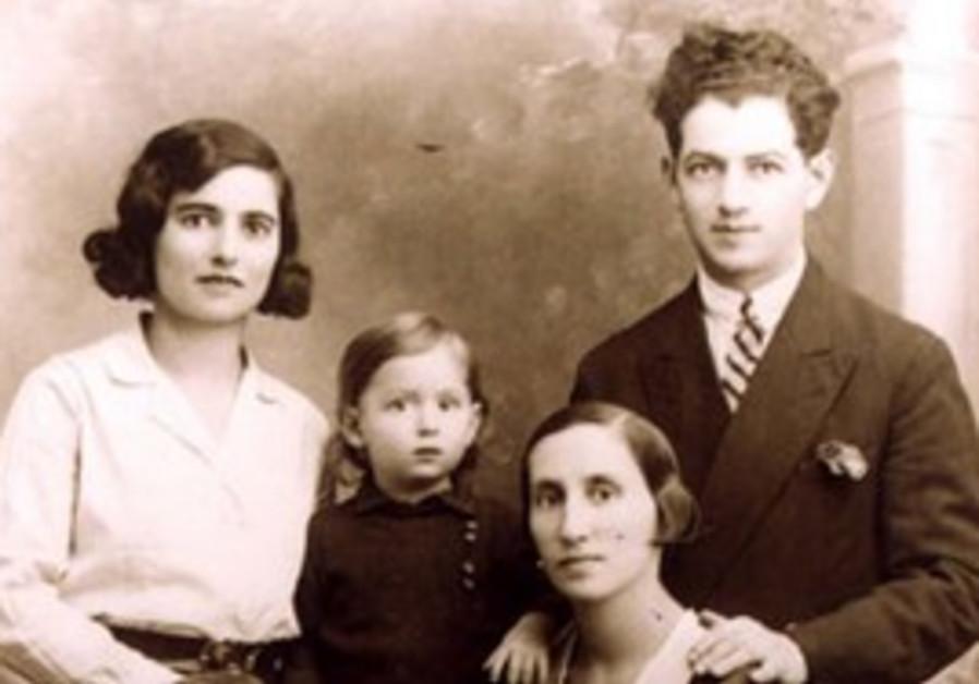 Hershel Yoffe, his wife Gittel in 1932