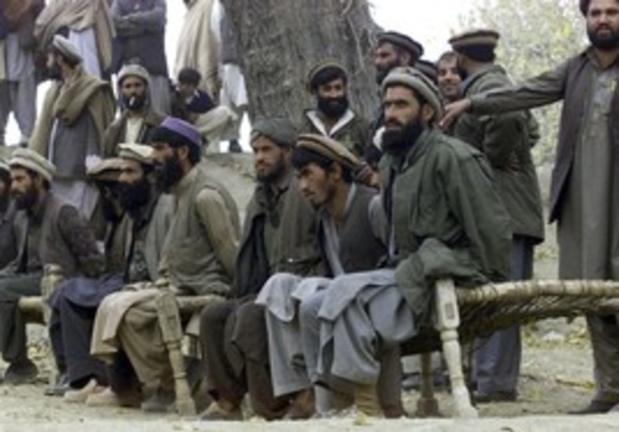 Captured Afghan al Qaida members
