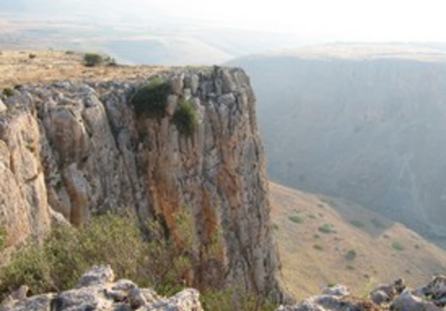 The glory of Mount Arbel