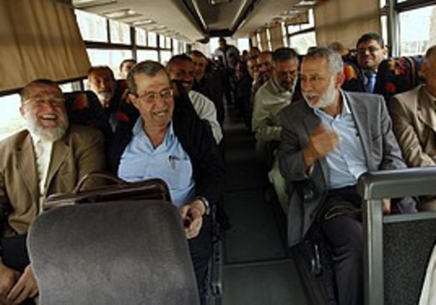 Senior Palestinian faction leaders in Gaza, Monday
