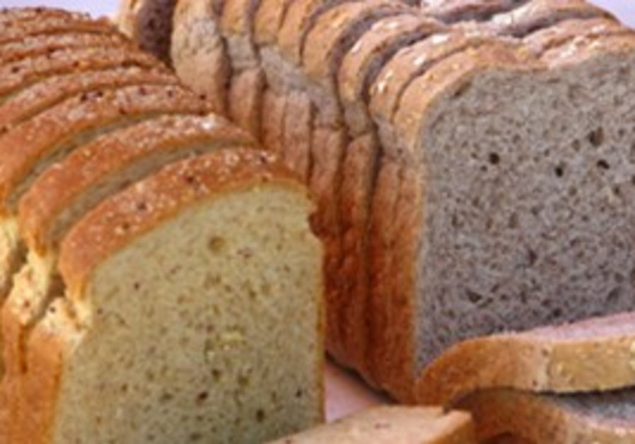 Variety of different breads