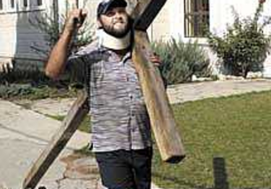 The modern perils of bearing a cross in Jerusalem