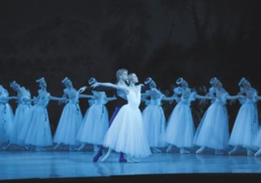 Performers at the Mariinsky Ballet.