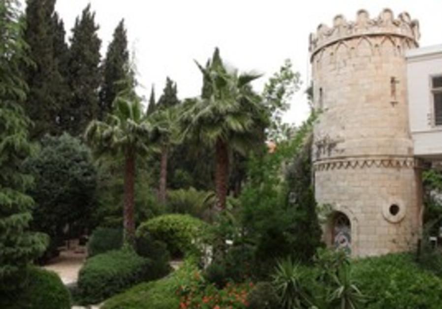 Sergei's Courtyard in Jerusalem