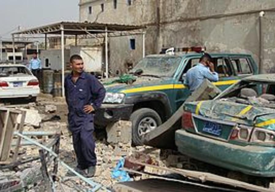 Bomb attack in Iraq (illustrative)