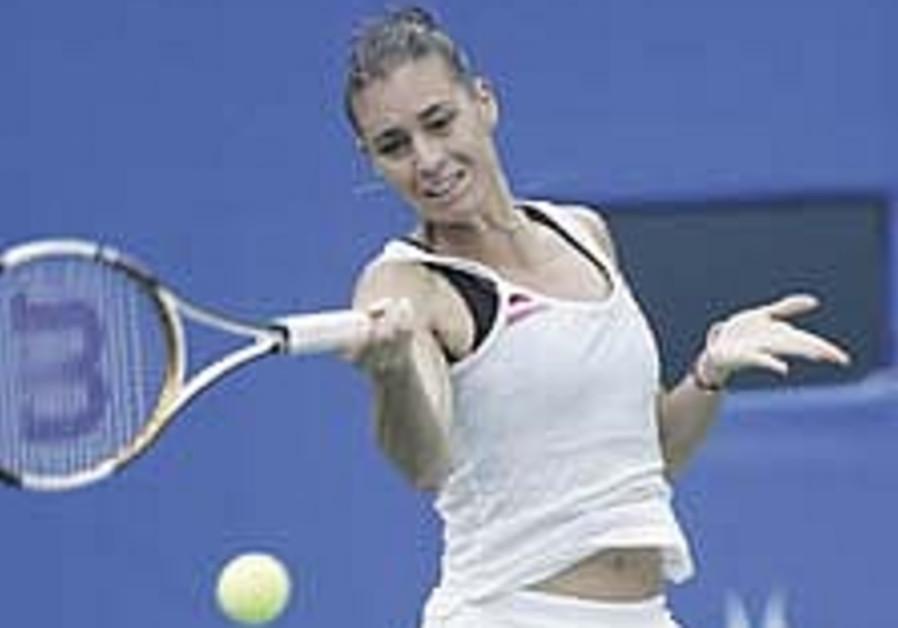 Tennis: Pe'er knocked out in Bangkok