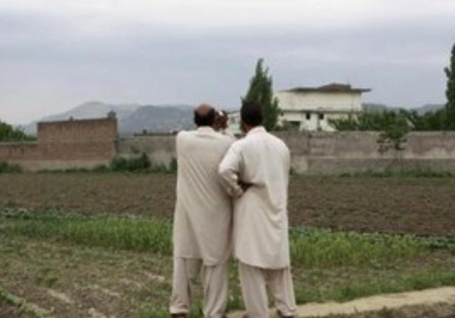 Pakistanis near compound where bin Laden killed