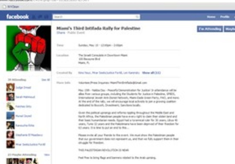 Miami Third Intifada group page