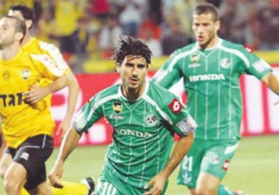 Lior Rafaelov of Maccabi Haifa