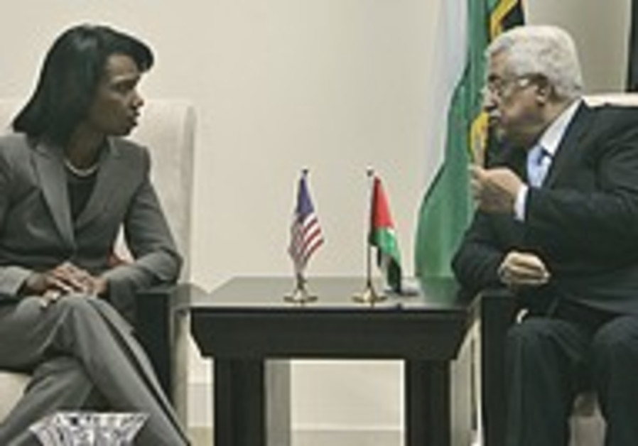 Rice aims to wrap up peace deal before end of Bush administration