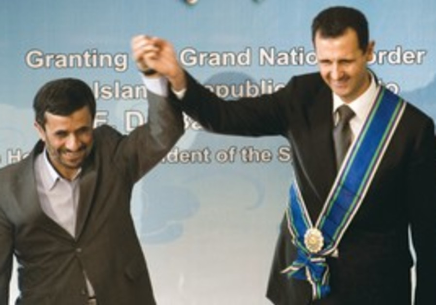 Ahmadinejad and Assad