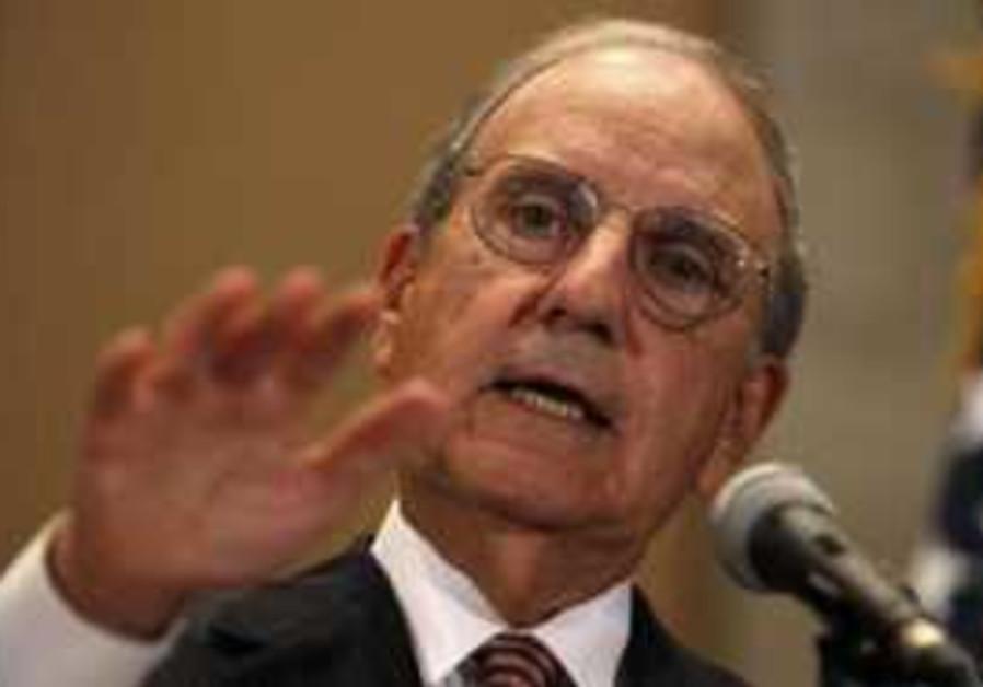 US Mideast Envoy George Mitchell