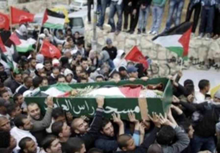 Funeral of Palestinian boy killed in east Jerualem