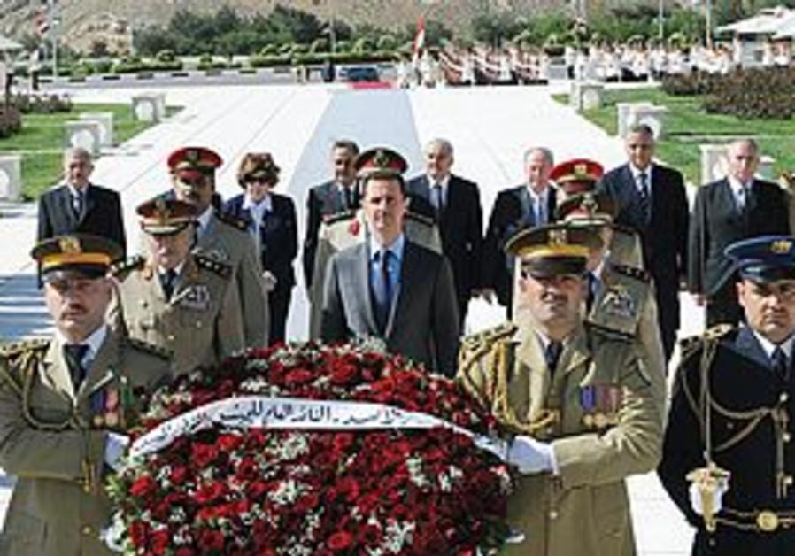 Bashar Assad in Syria