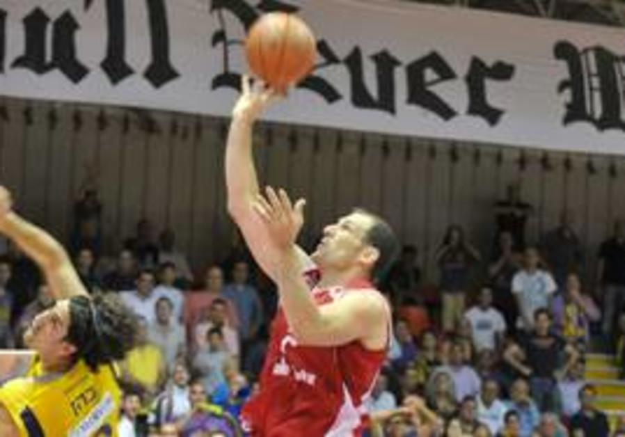 Hapoel Gilboa center Ido Kuzikaro