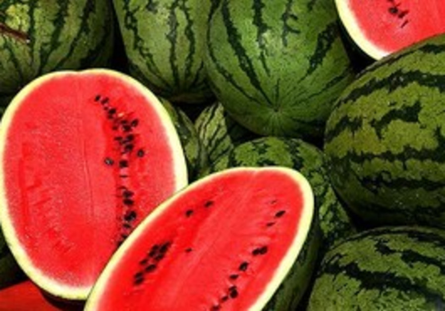 Watermelons are a great summer treat