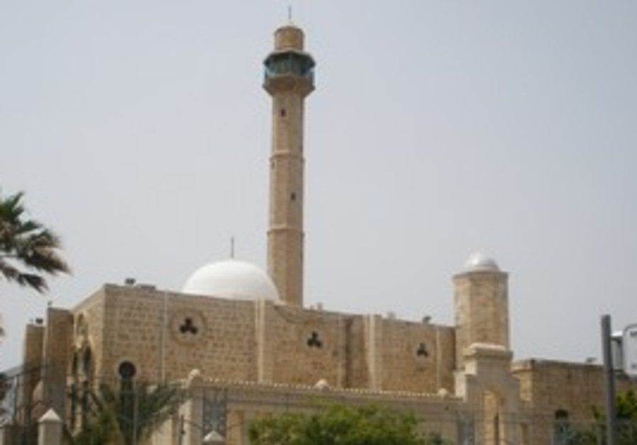 Hassan Bek mosque in Tel Aviv