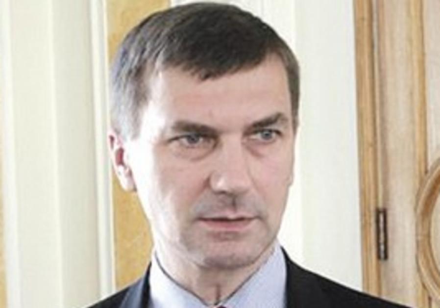 Estonian Prime Minister Ansip