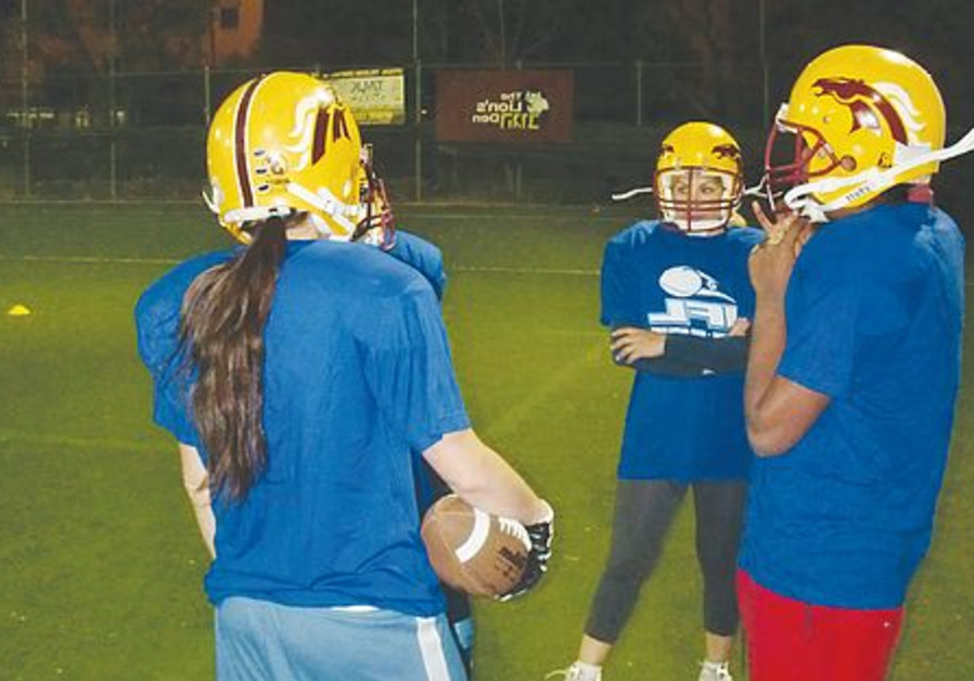 women's tackle football team